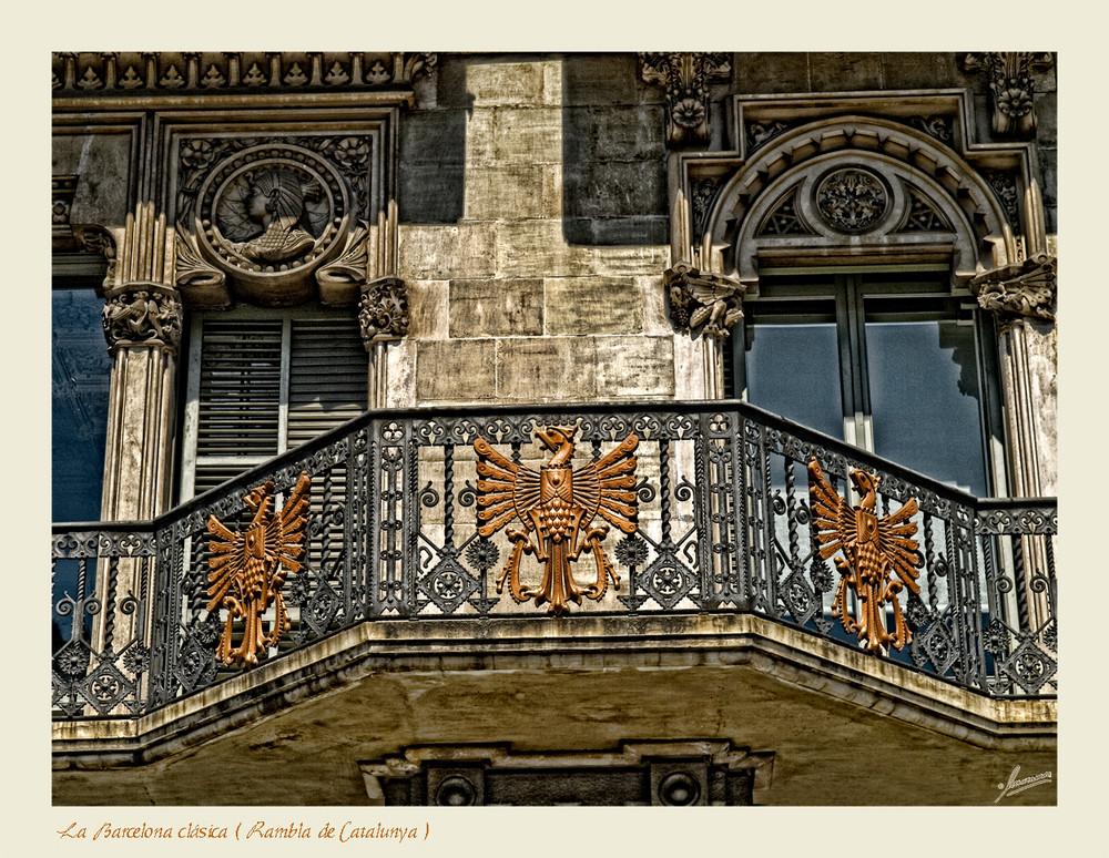 La Barcelona clásica ( Rambla de Catalunya )