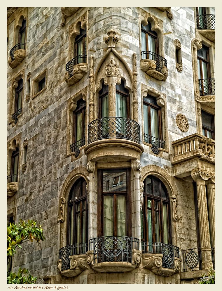 La Barcelona modernista ( Mayor de Gracia )