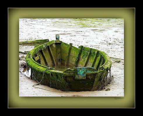 La barque à CR