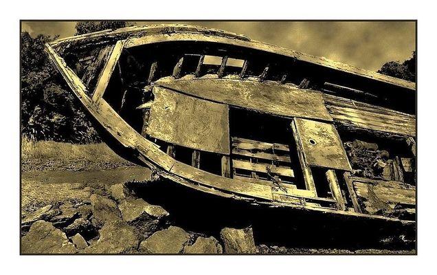 La barque oubliée