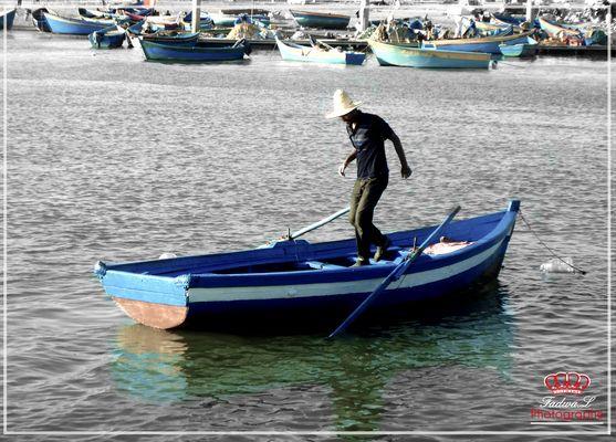 la barque perdue