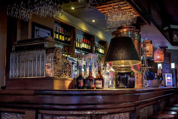 La barra del bar