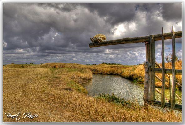 La barrière du marais - Vendée