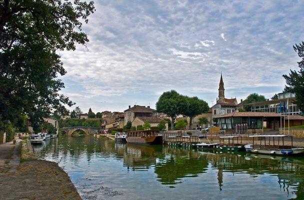 La Baïse à Nérac  --  Lot-et-Garonne  --  Die Baïse in Nérac
