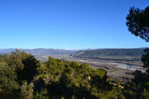 La basse vallée de la Durance