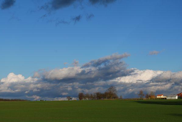 La beauté des nuages ..