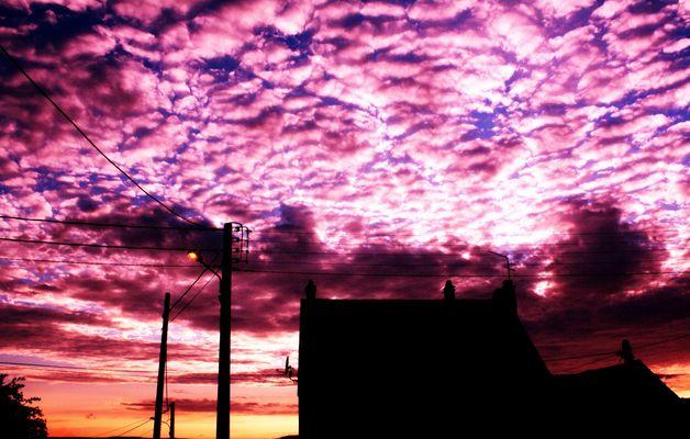La beauté du ciel.