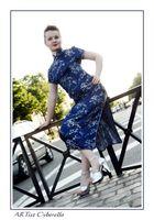 La belle dame en robe chinoise