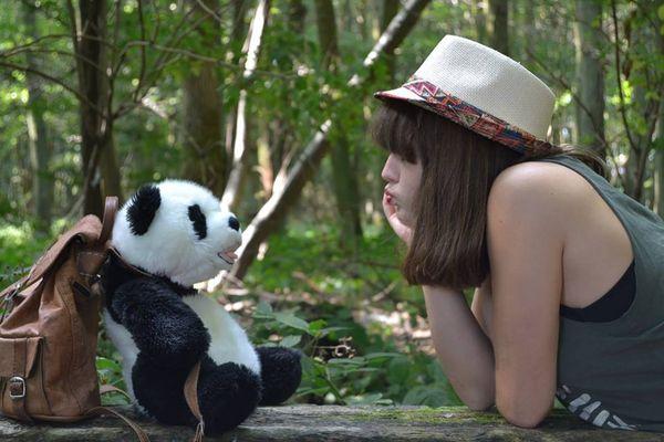 La belle et le Panda