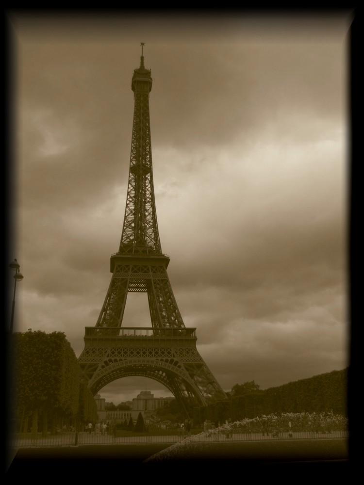 La belle Tour Eiffel