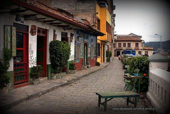 La belleza de la ciudad. Cuenca - Ecuador