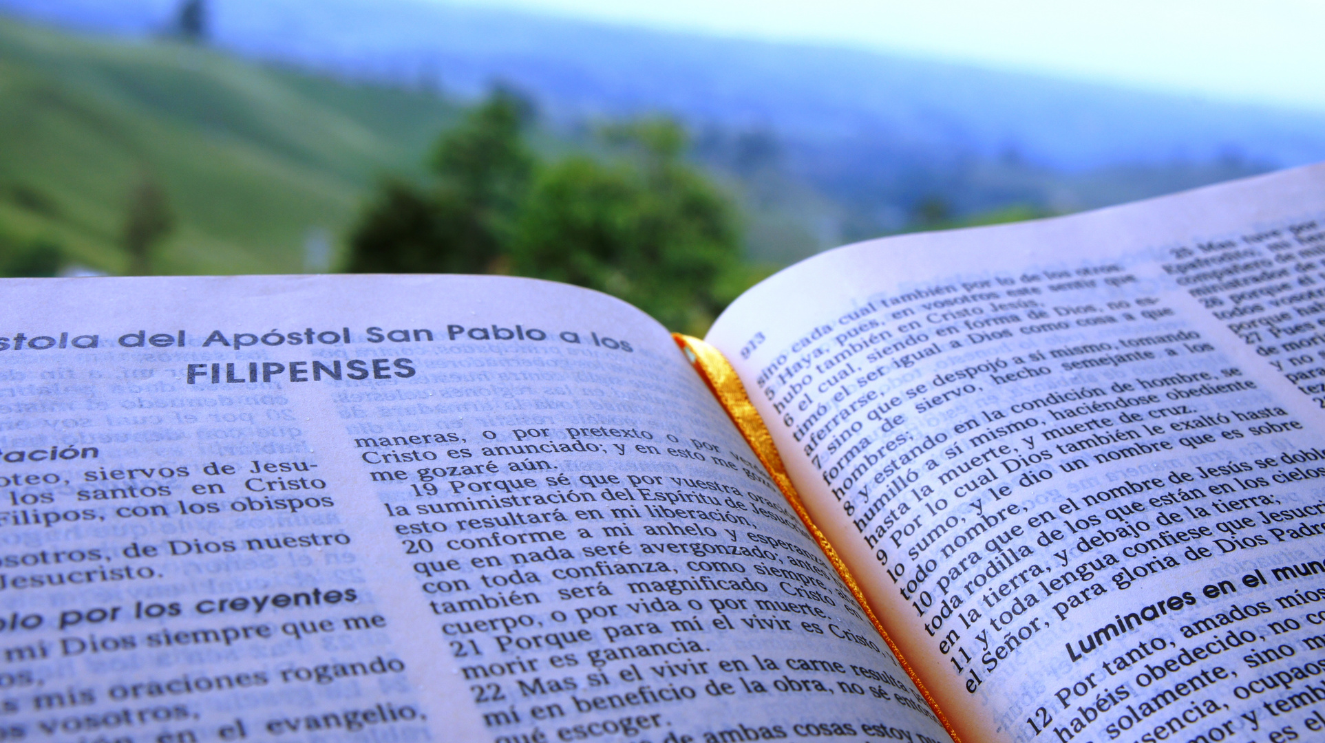 La Biblia mensaje de Esperanza