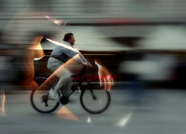 la biciclette......