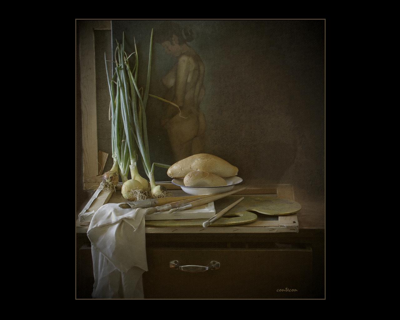 la bohemia y contigo pan y cebolla