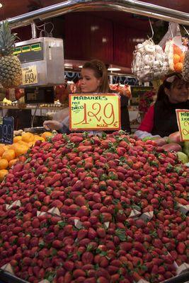 La Boqueria's market