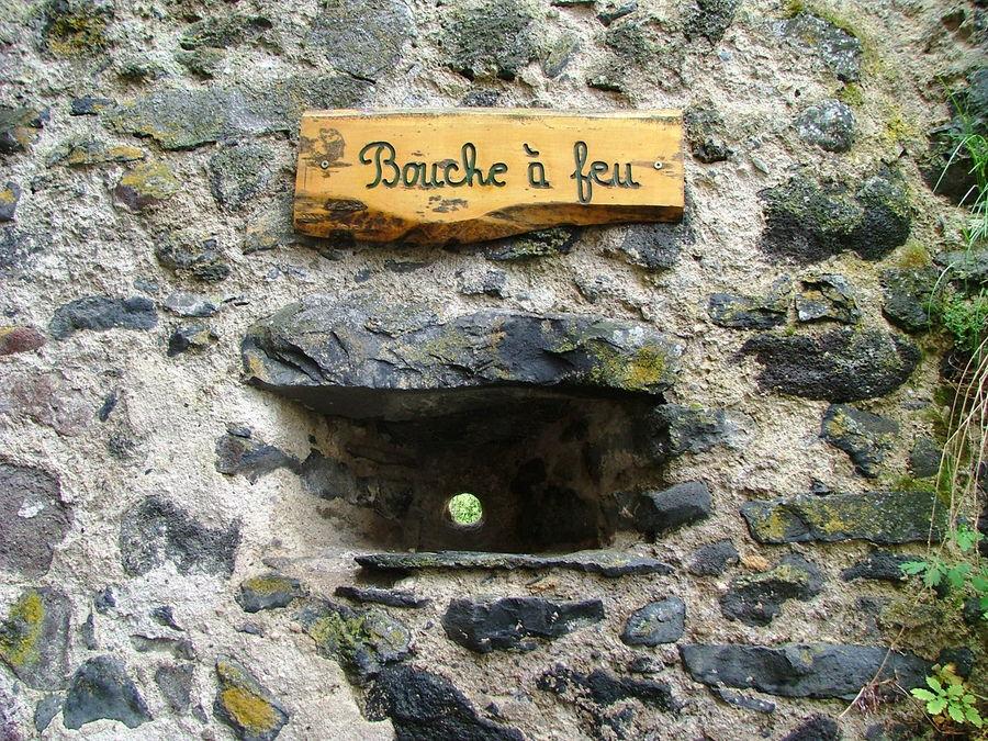 La bouche à Feu de Saurrier Puy de Dôme