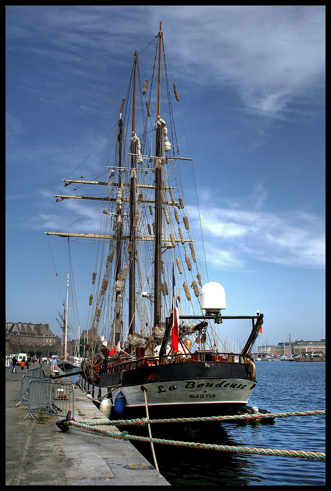 La Boudeuse - Saint Malo