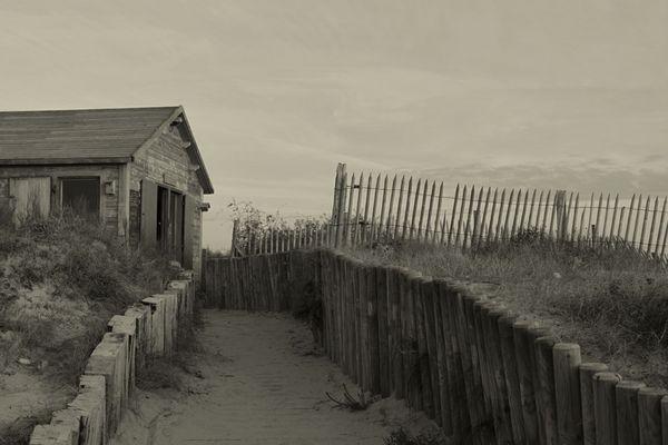 La cabane à la mer