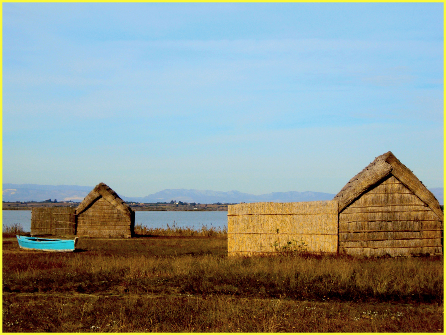 la cabane des pêcheur