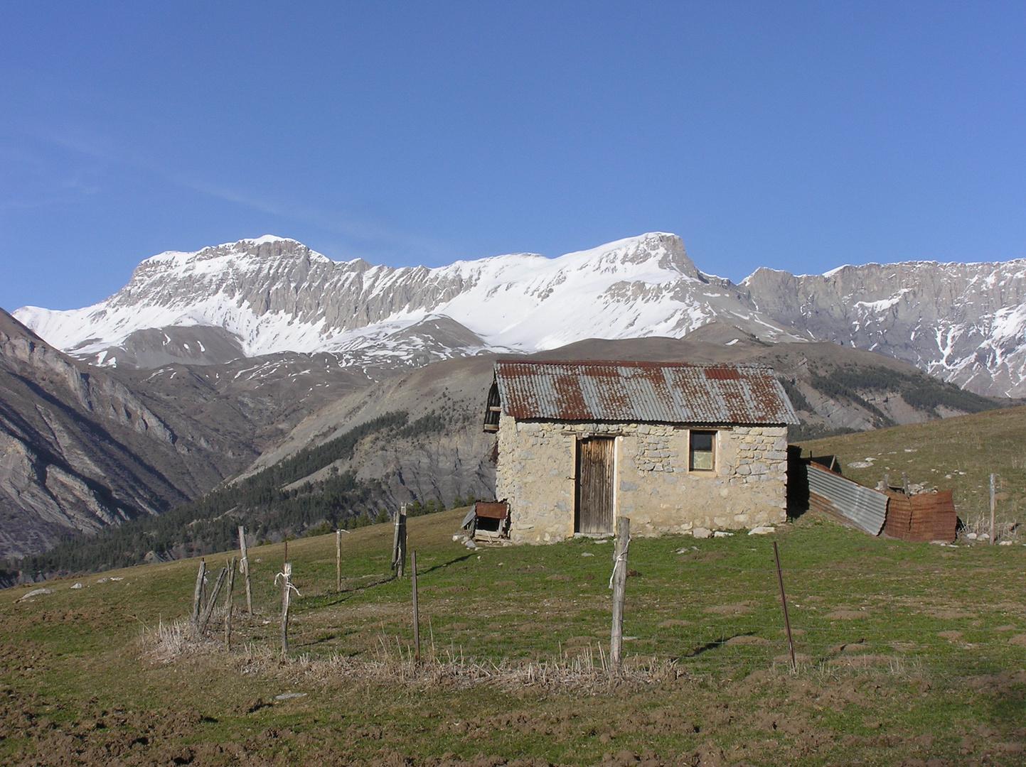 la cabane du berger 1460 m
