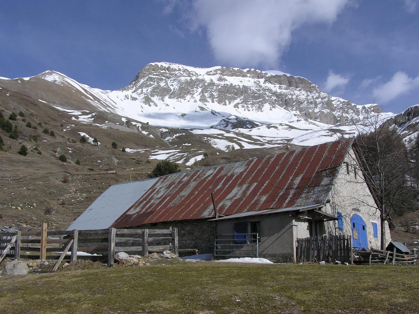 la cabane du mulet 1710 m