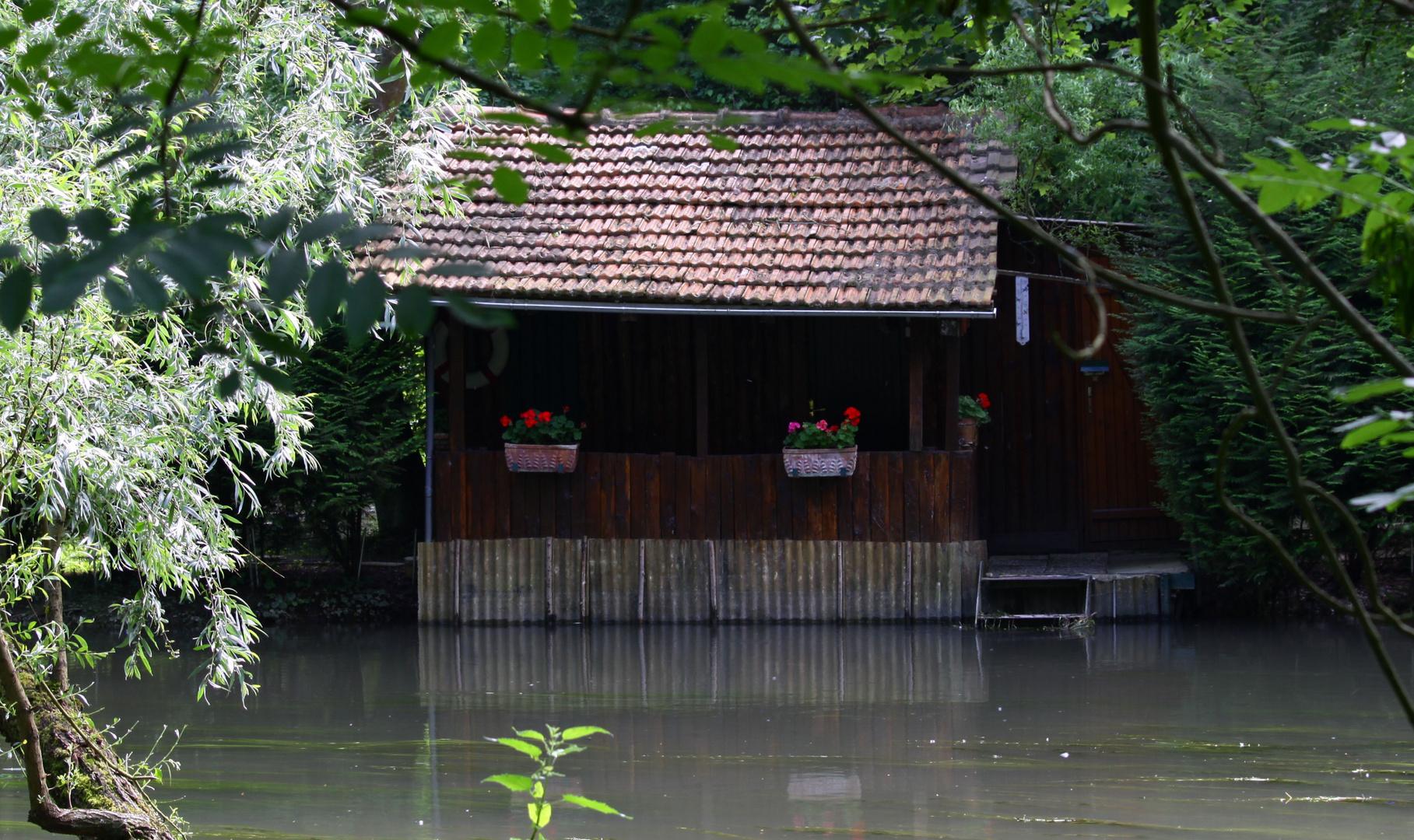 la cabane du pêcheur!