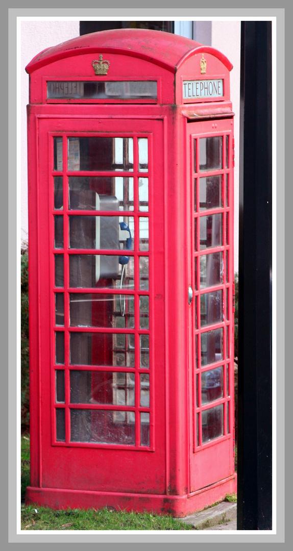 la Cabine Téléphonique