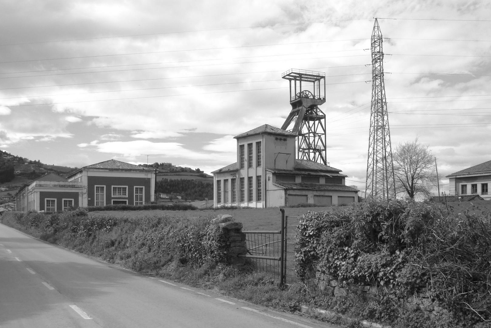 La Camocha Colliery. Gijón - Northern Spain.