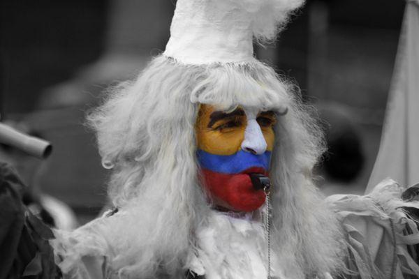 La cara de mi gente colombiana