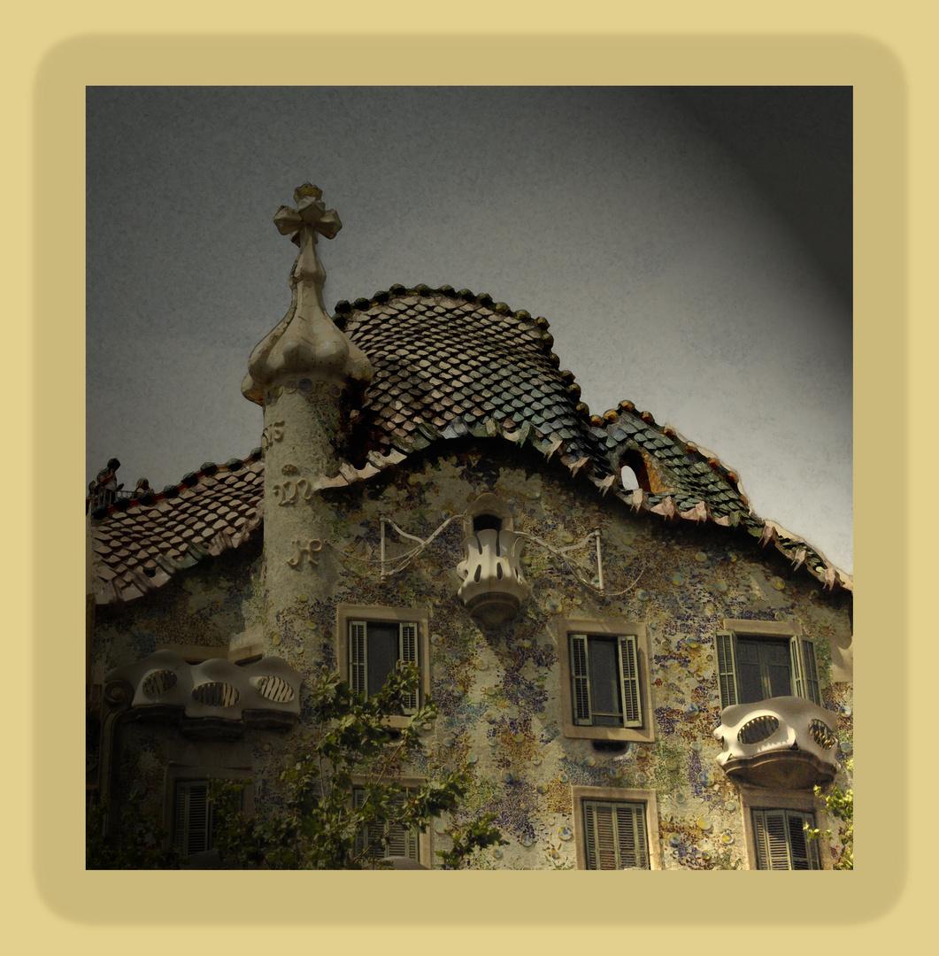 La casa Batlló de Gaudí - Modernismo catalán