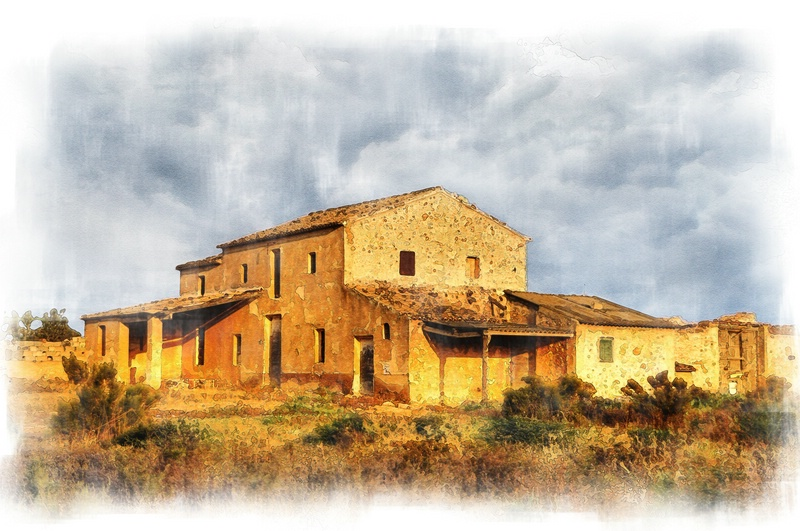 La casa de la huerta
