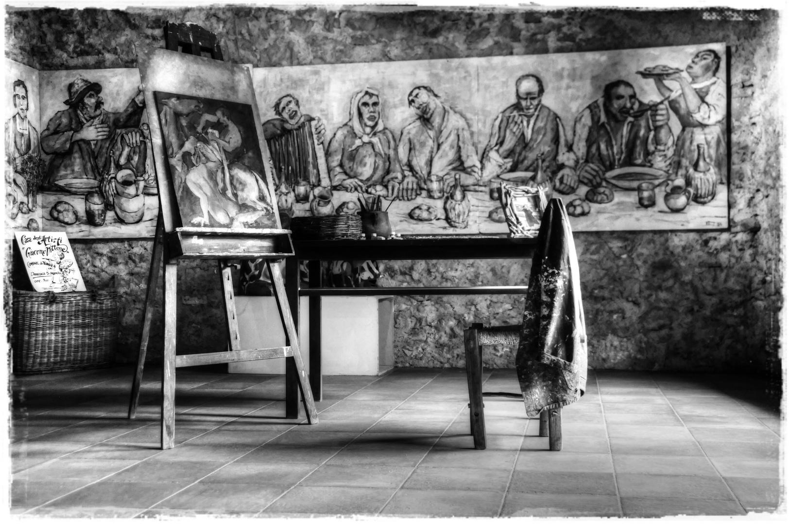 La casa degli Artisti...