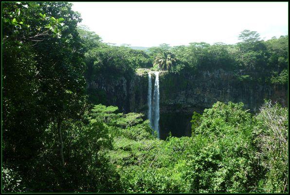 la cascade de Chamarelle - Ile Maurice