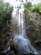 la cascata sul Rio Pantone solo a 20 minuti di passeggiata nel bosco da casa mia :-)