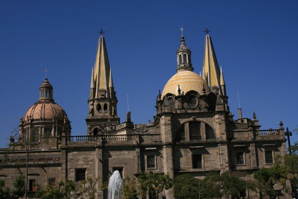 LA CATEDRAL DE GUADALAJARA JALISCO MEXICO