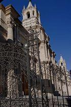 La cathédrale d'Arequipa, Pérou