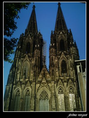 La cathédrale de Cologne