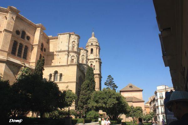 La cathedrale de Malaga