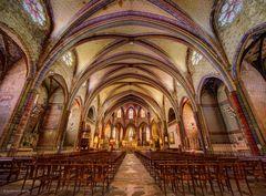 la cathédrale de Mirepoix