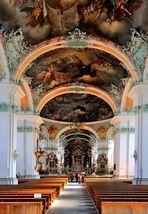 La cathédrale de St.Gall