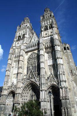 la cathedrale de Tours