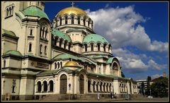 la cattedrale A Newskij .Sofia