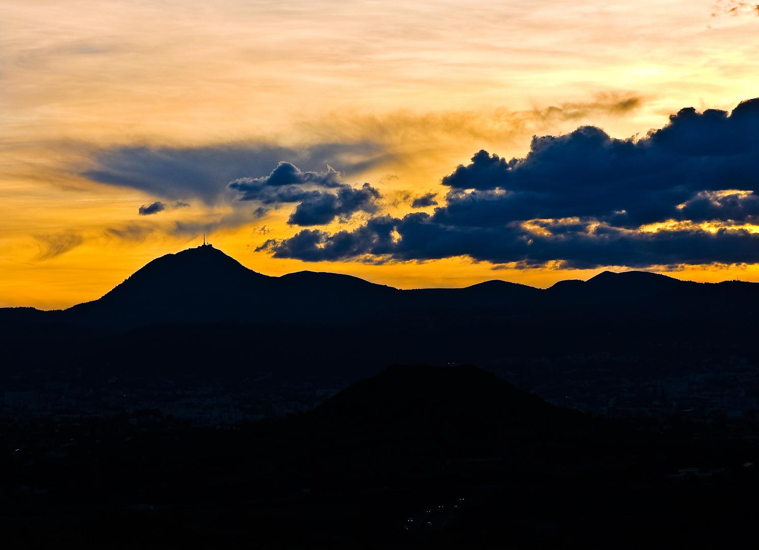 La chaine des Puys en Auvergne