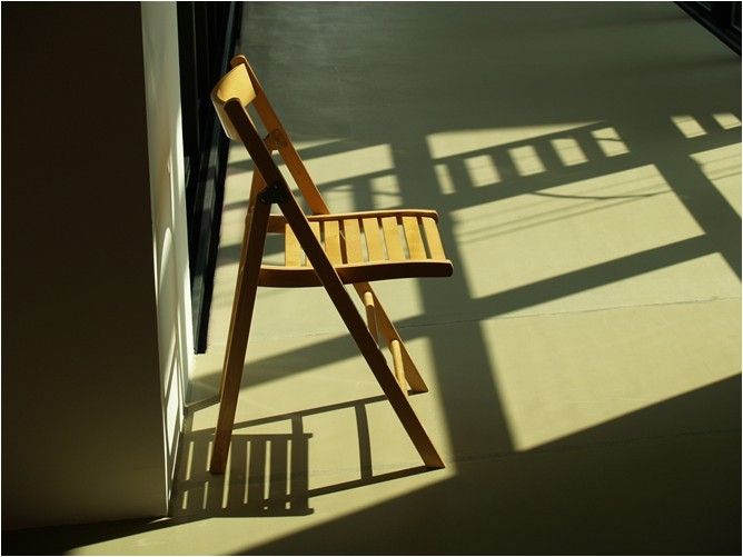 La chaise du gardien de musée