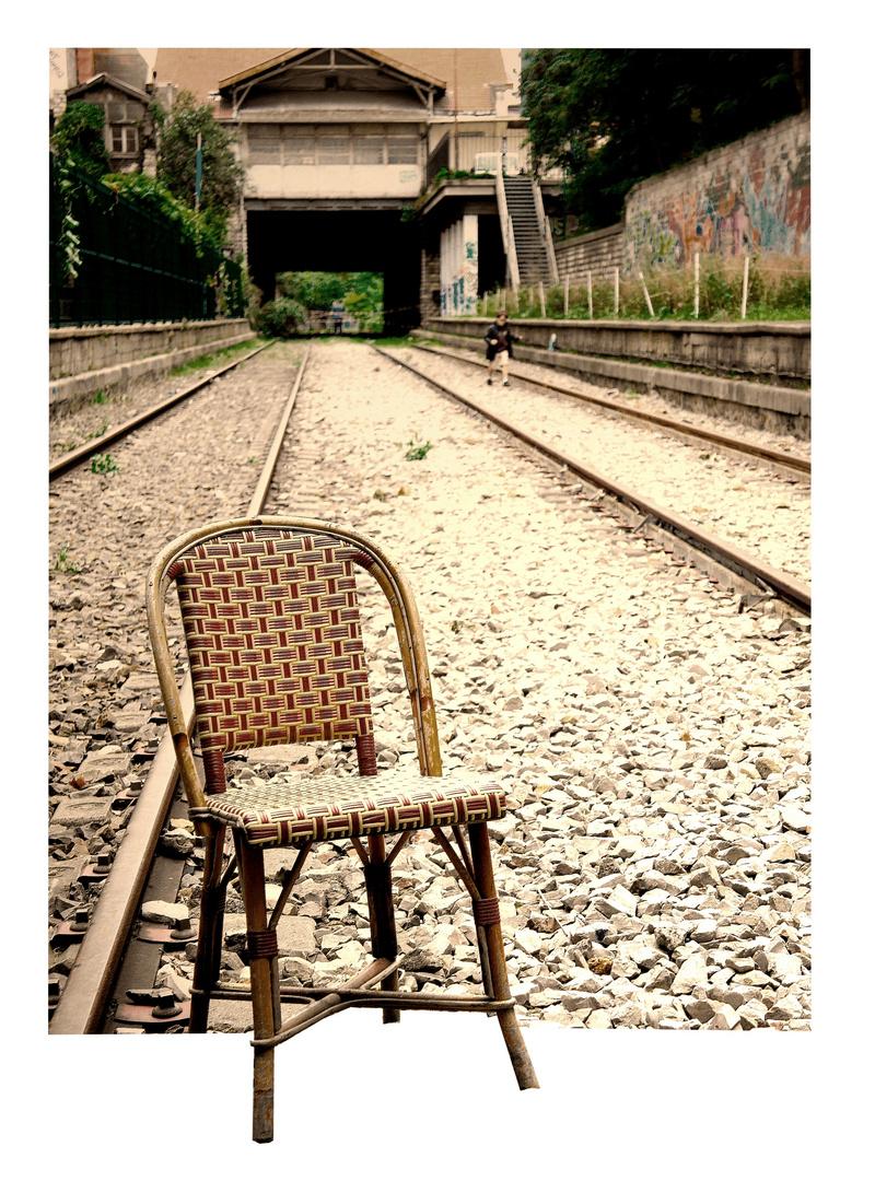 La chaise vide...
