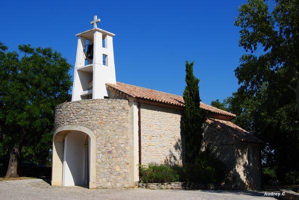 La chapelle de Cazevieille (34)