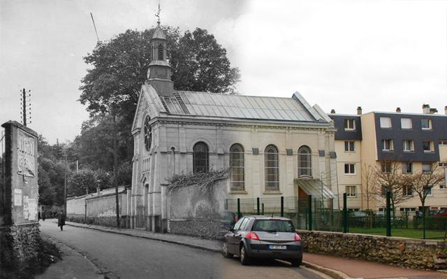 La chapelle de Cernay à Ermont...hier et aujourd'hui
