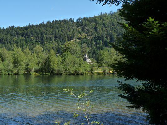 la chapelle du lac
