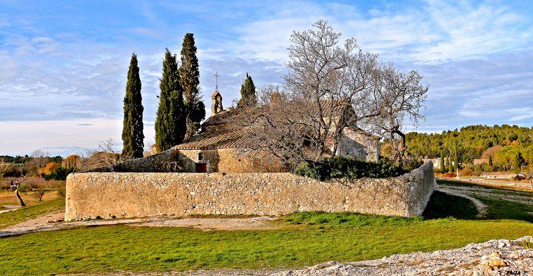 La chapelle Saint Sixte à Eygalière Provence