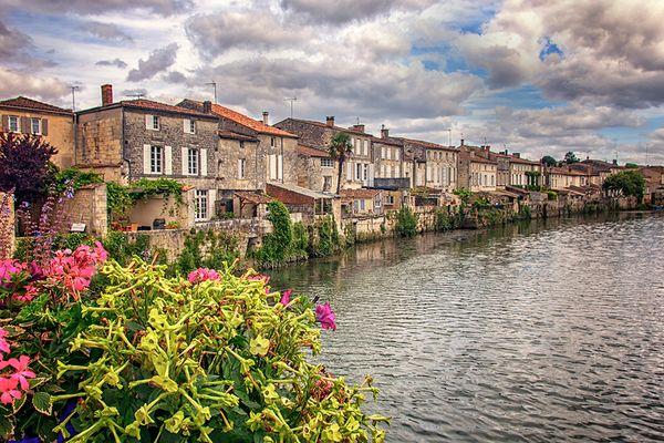 La Charente Maritime, Francia, Julio 2016